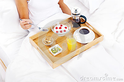Luxury breakfast service
