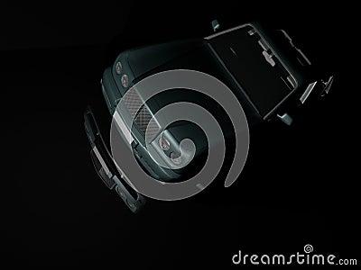Luxury Car at Night