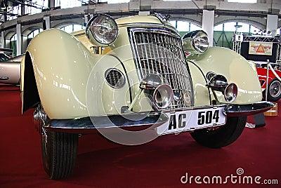 Luxury car Wanderer W25K Editorial Stock Photo