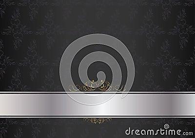 Luxury card dark