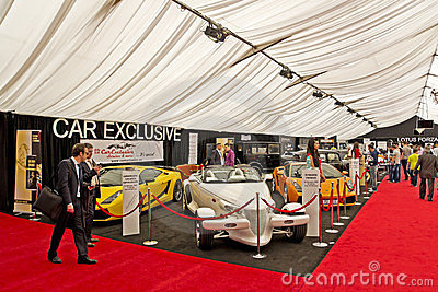 Luxury Cars Auto Show Editorial Stock Image