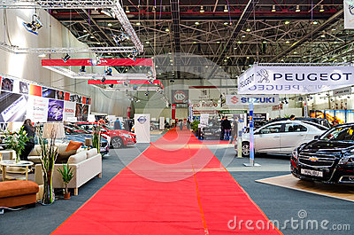 Luxury Cars Auto Show Editorial Photo