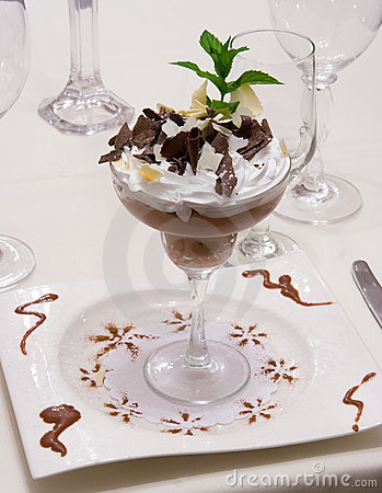 Luxury Chocolate Desert