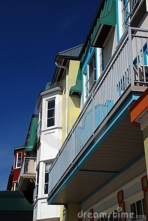Luxury colored condo at Mont-Tremblant