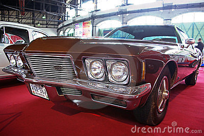 Luxury coupe Buick Riviera Editorial Image