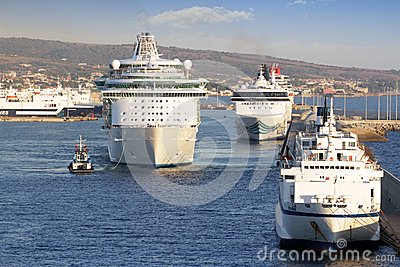 Luxury cruise Editorial Stock Image