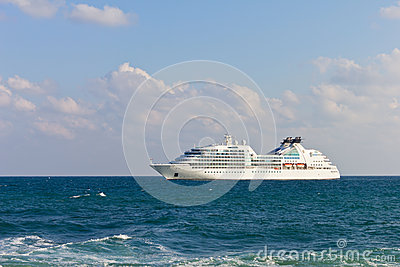 Luxury cruise liner Editorial Photo