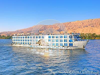 Luxury cruise on Nile
