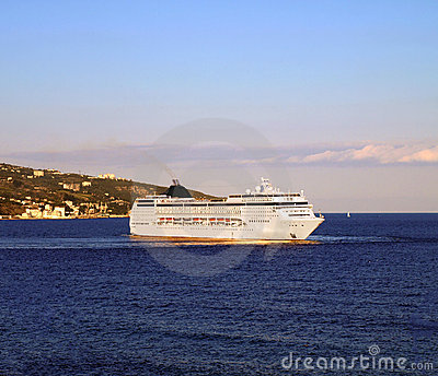 Luxury Cruise Ship Royalty Free Stock Image - Image: 22723236
