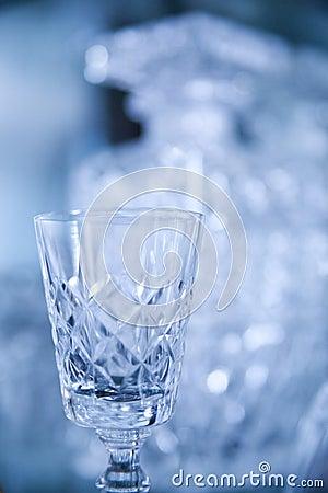 Luxury crystal glass