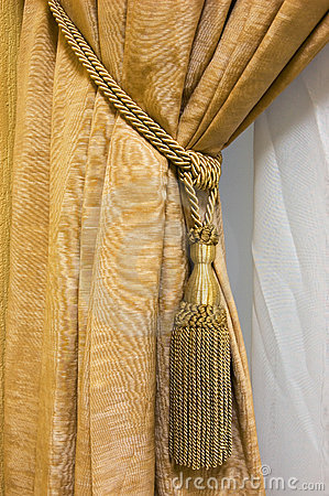 Free Luxury Curtain Royalty Free Stock Photos - 1553888