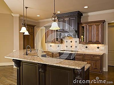 Luxury Diamond tile Kitchen front