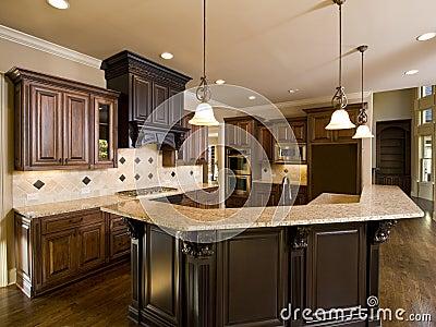 Luxury Diamond tile Kitchen left side