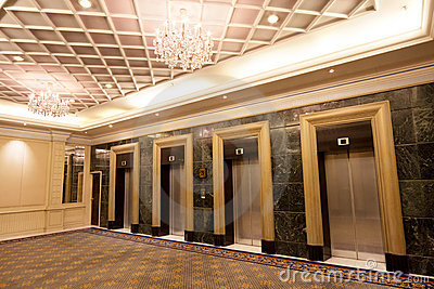 Luxury Elevators Stock Image Image 18848561