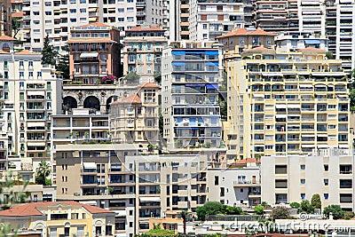 Luxury elite apartments in the port of Monaco