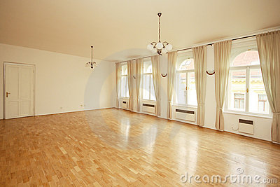 Luxury empty  room