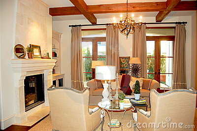 A luxury family room