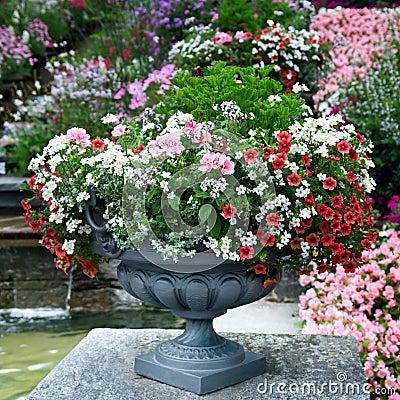 Luxury flower bed