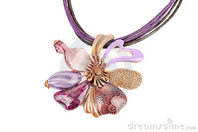 Luxury flower necklace
