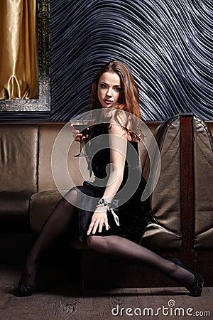 The luxury girl