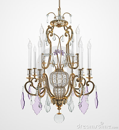 Luxury Glass Chandelier