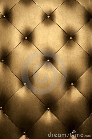 Free Luxury Golden Leather Royalty Free Stock Image - 15447826