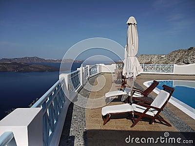 Luxury holidays on Santorini