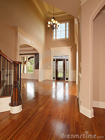 Luxury home entrance way
