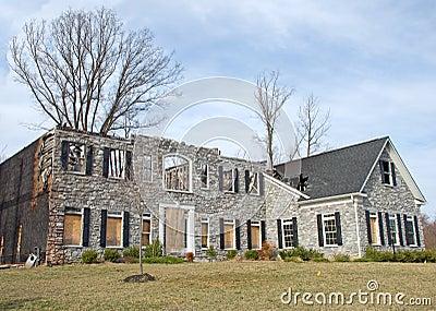 Luxury Home Fire Damage 1