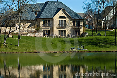 Luxury home on the golf course