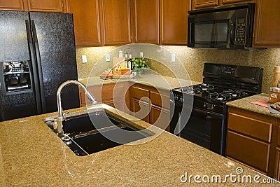 Luxury home kitchen