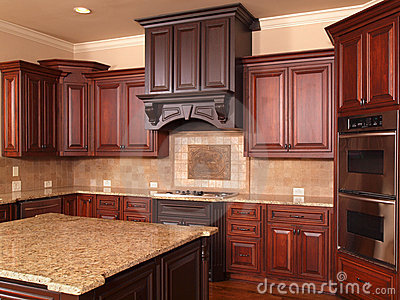 Luxury Home Kitchen center island