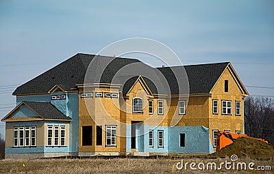Luxury Home Under Construction 1