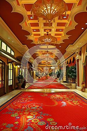 Luxury hotel interior Editorial Stock Image