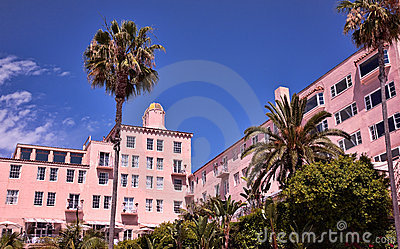 Luxury Hotel, La Jolla, California Editorial Photography