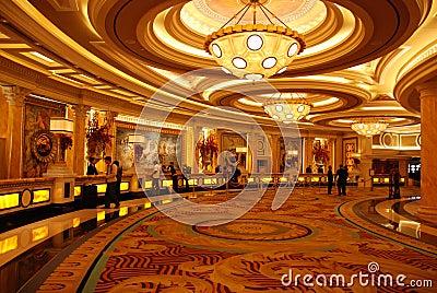 The luxury hotel lobby Editorial Photo