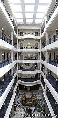 Luxury hotel lobby Editorial Stock Photo
