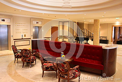Luxury hotel lobby Editorial Photography