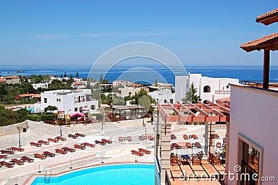 Luxury hotel recreation area
