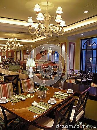 Luxury hotel restaurant 2