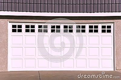 Luxury House Garage Door
