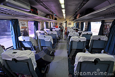 Luxury Indian Train Editorial Photography