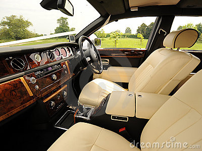 Luxury Interior of Car