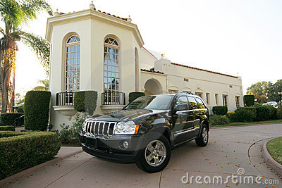 Luxury jeep