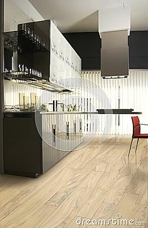 Free Luxury Kitchen Stock Photography - 3863062