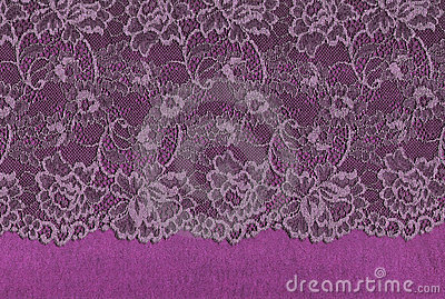 Luxury lace.