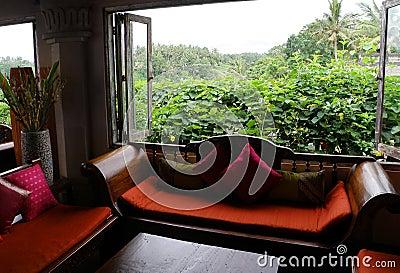 Luxury living room interior view, eastern styles