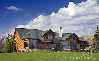 Luxury Log Cabin Home