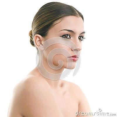 Luxury make-up portrait