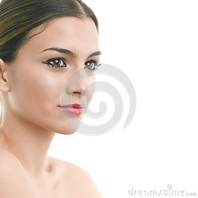 Luxury make-up portrait